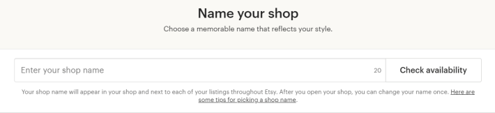 Etsy-name-store
