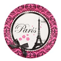 PARIS DAMASK DINNER PLATES   This Party Started
