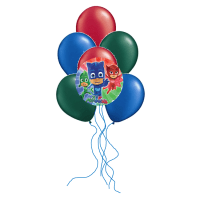 PJ Masks Balloon Bouquet | PJ Masks Party Balloons | This ...