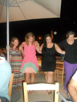 Failed so bad at Greek Dancing