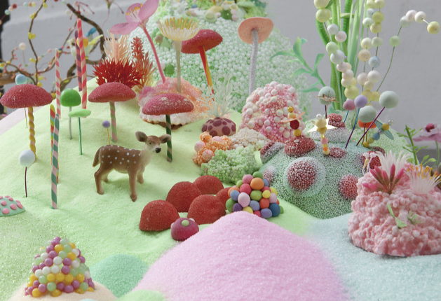 the gumdrop tree + gumdrops are fabulous