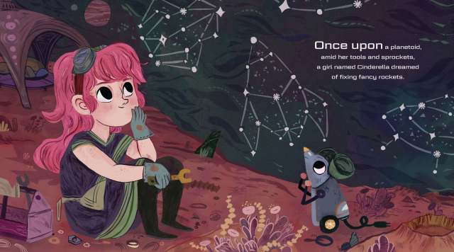 Interstellar Cinderella_Once upon