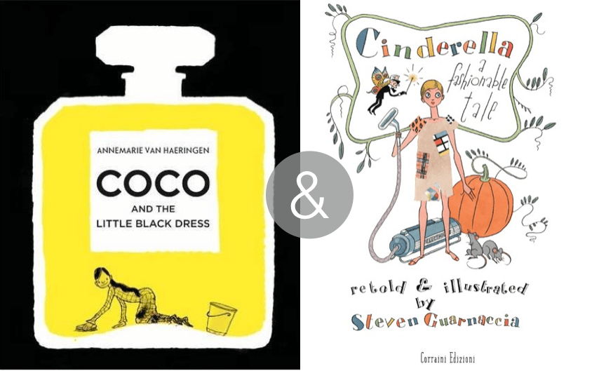 Coco and the little black dress & Cinderella, a fashionable tale