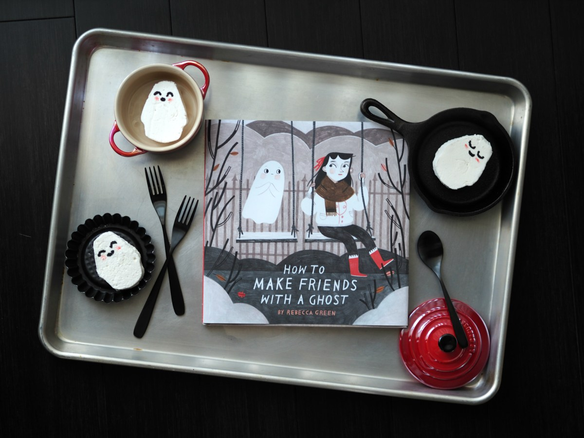how to make friends with a ghost + marshmallow ghosts from Sincerely, Syl!
