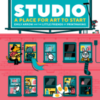 studio: a place for art to start cover reveal + interviews + studio tours + giveaway!