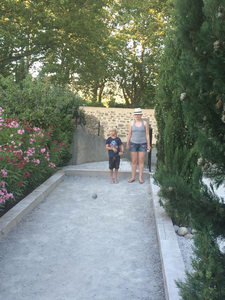 petanque in Montlaur