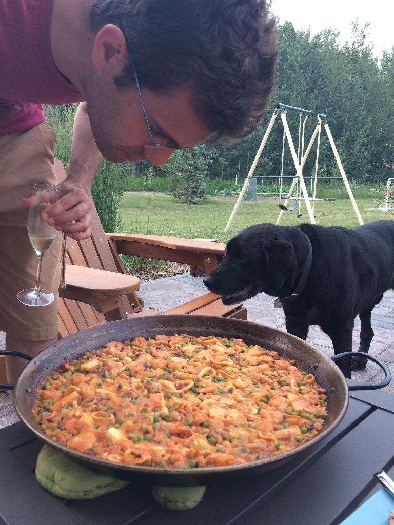 Paella on the Prairies