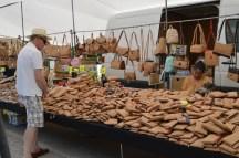 cork wares, gypsy market, albufeira, Algarve Portugal