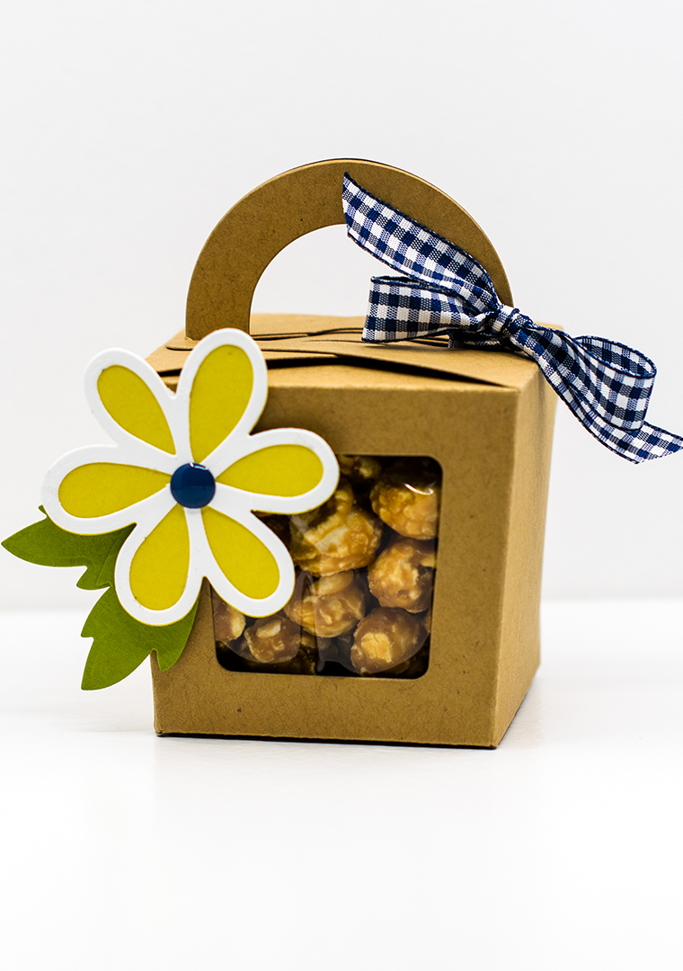 Pretty Packaging – Windowed Box with a Handle
