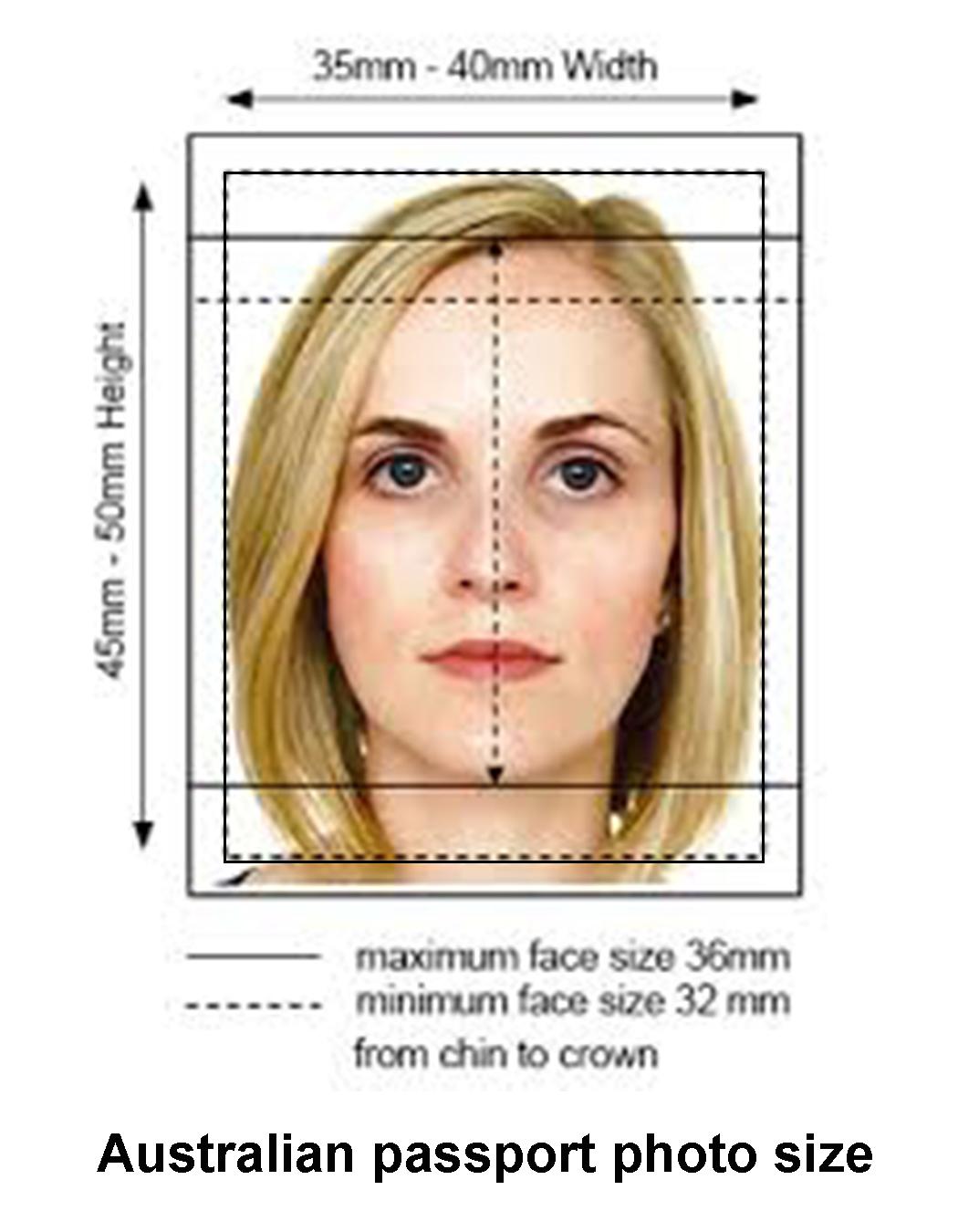Image result for australian passport photos