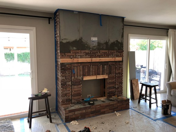 Phenomenal How To Build A Faux Fireplace And Transform A Room Part 2 Download Free Architecture Designs Terchretrmadebymaigaardcom