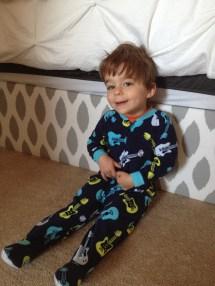 Little Boy Pajamas Down