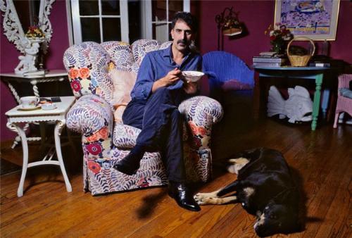 Frank Zappa, 1988, photograph by Lynn Goldsmith