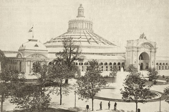 The Rotunde, center of the exhibition, 1873