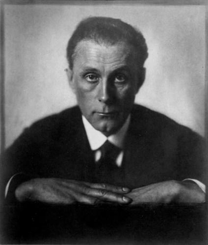 Adolf Loos, 1922 Trude Fleischmann