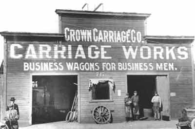 Crown Carriage Works, 1903