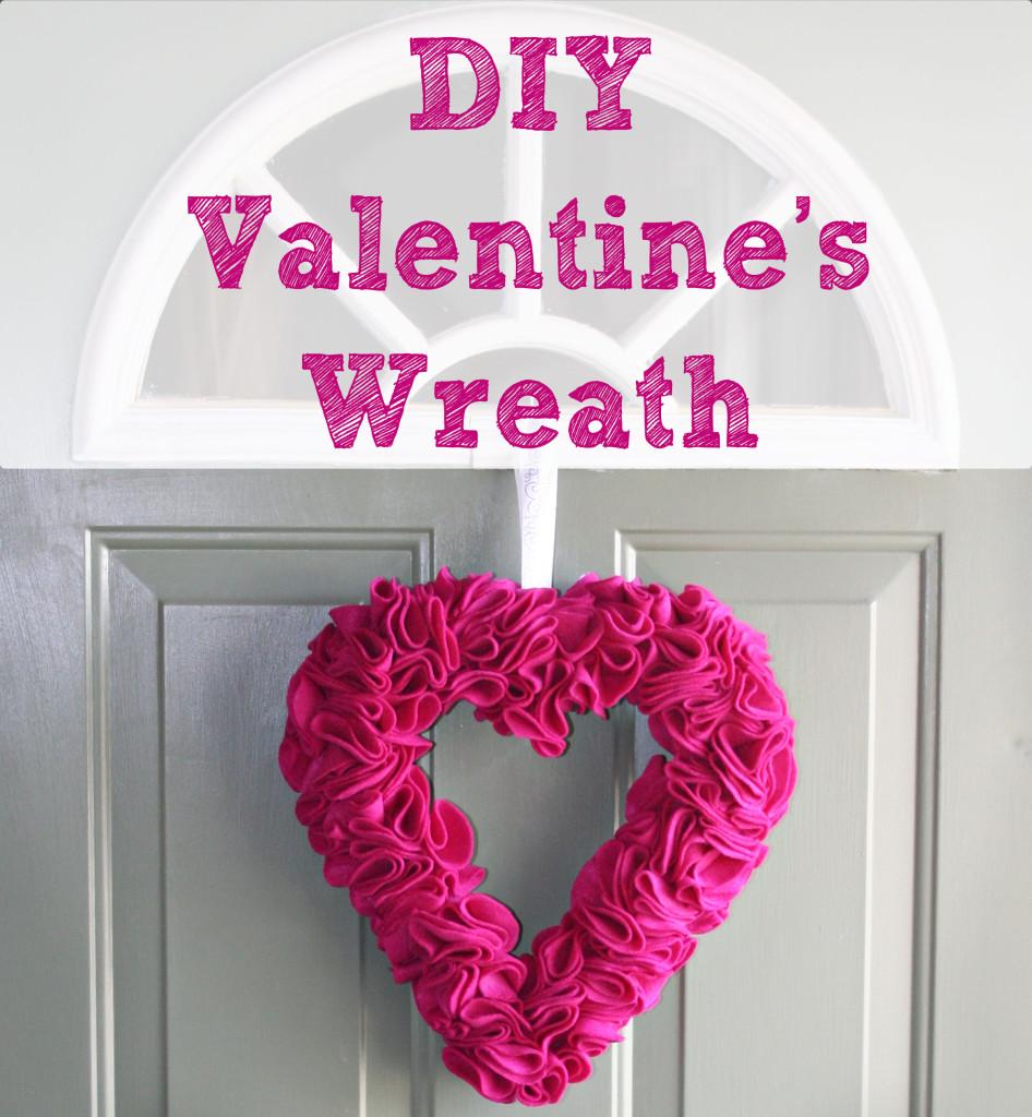 DIY Valentine Heart Wreath This Pug Life