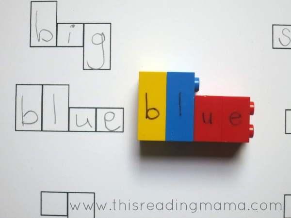 spelling with lego letters and how to make your own. Black Bedroom Furniture Sets. Home Design Ideas