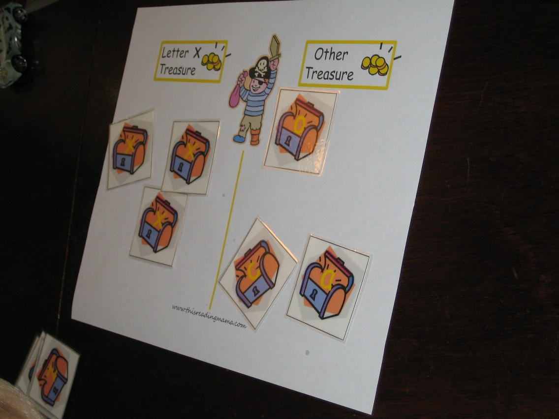 X Marks The Spot 5 Free Printables Included