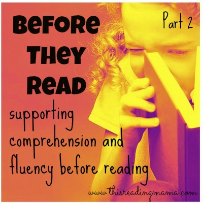 Before They Read {Part 2}: Introducing New Words   This Reading Mama