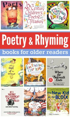 Poetry and Rhyming Books for Older Readers - This Reading Mama