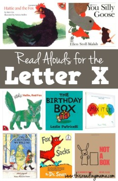 Letter X Books - Read Alouds for the Letter X - This Reading Mama