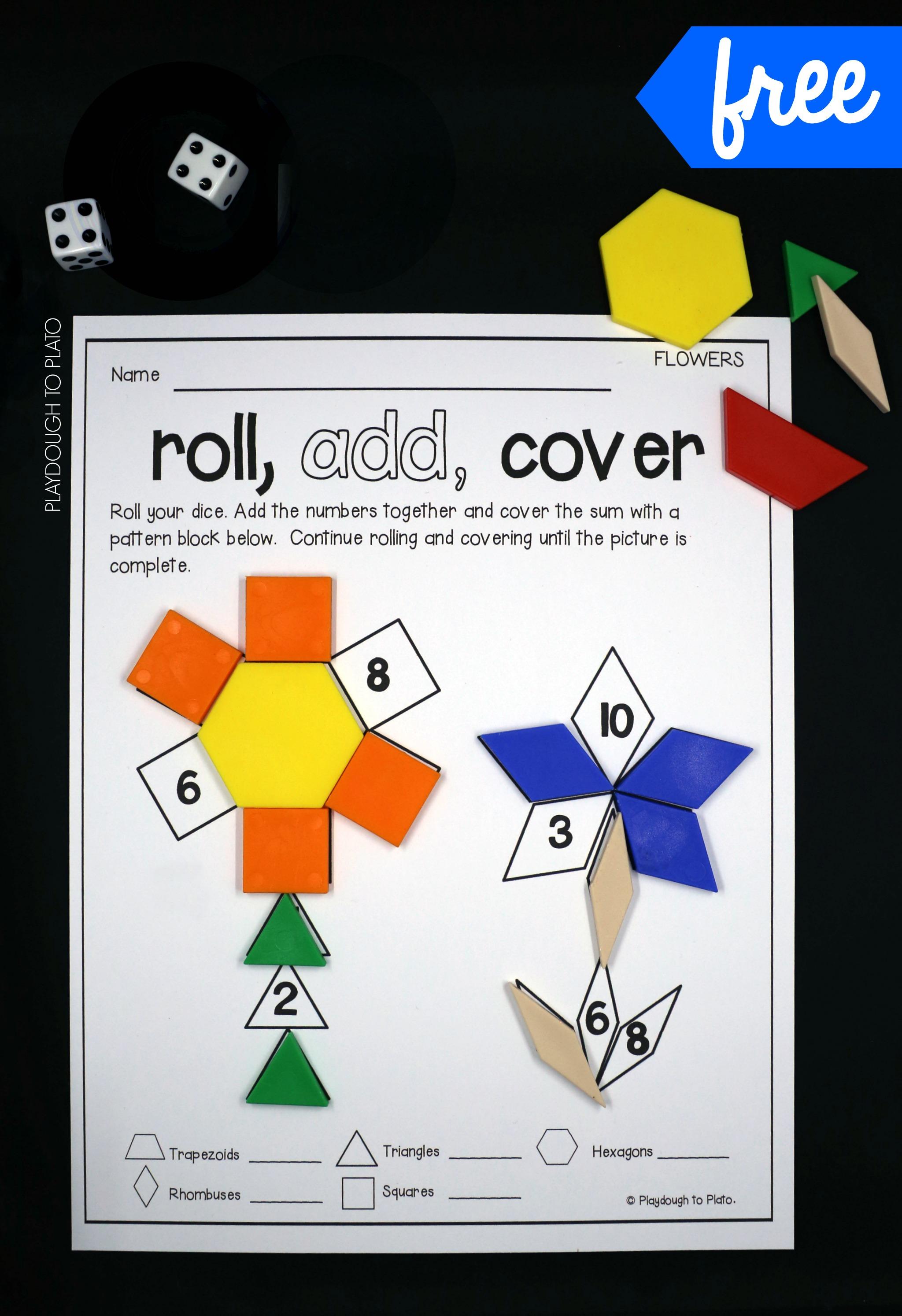Free K 2 Math Activities