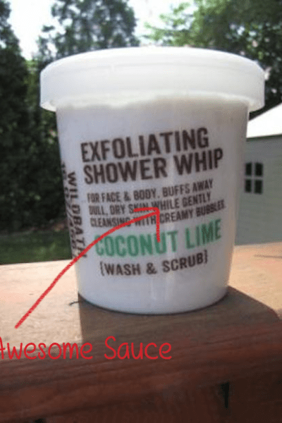 Good Earth Coconut Lime Shower Whip