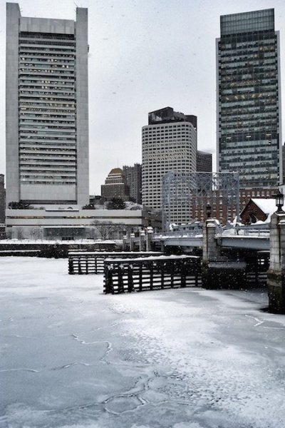 Boston in Winter
