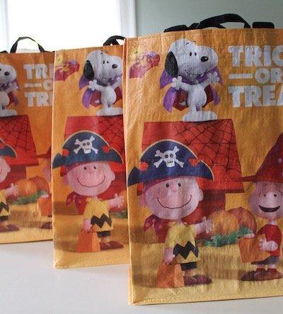 Peanuts Trick or Treat Bags