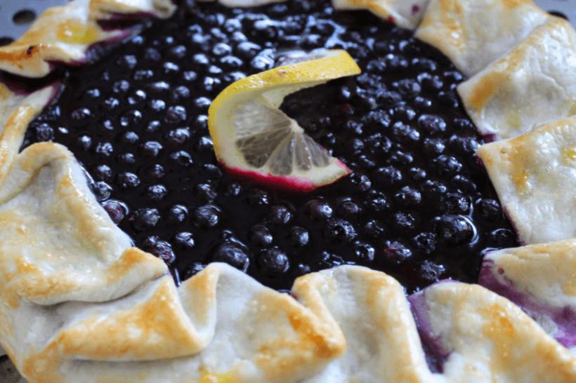 Blueberry Lemon Galette