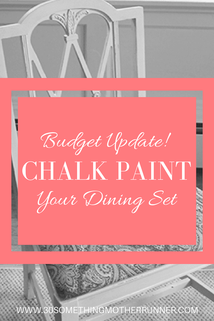 Update your dining set on a budget with chalk paint