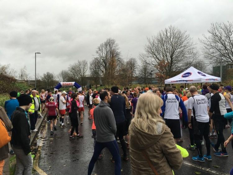 The Start Hatfield 5 Mile Race