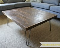 Hairpin Leg Coffee Table | This Sarah Loves