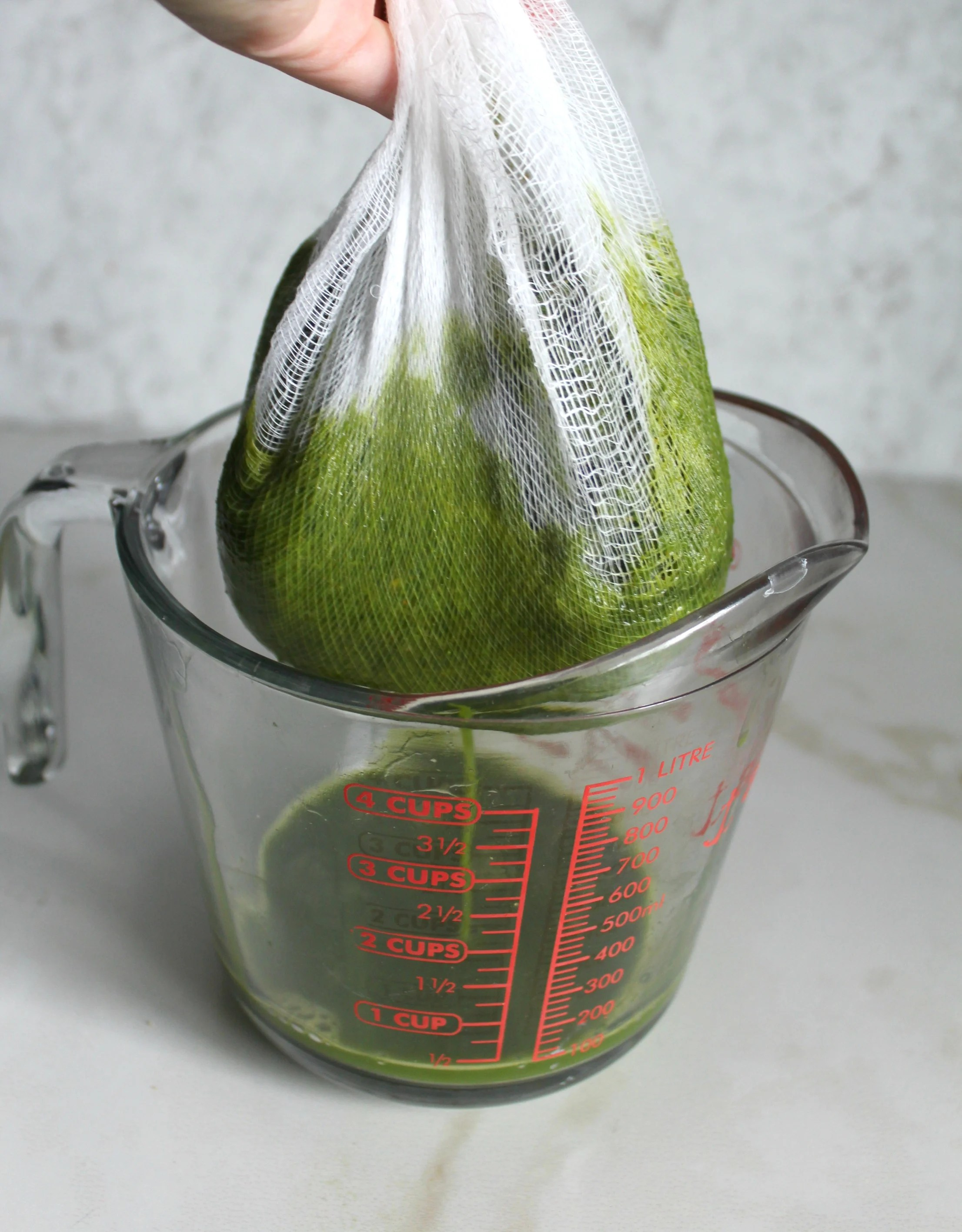 How To Make Green Juice In A Blender | ThisSavoryVegan.com