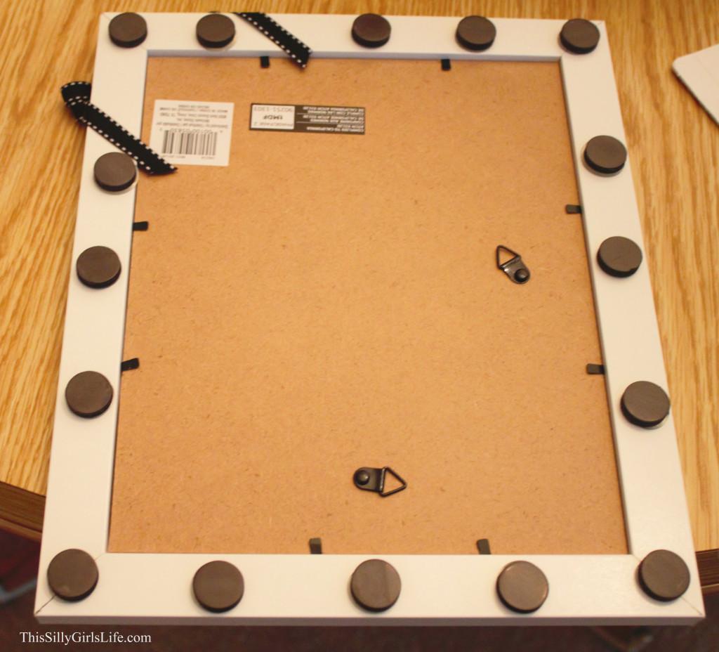 DIY Magnetic Dry Erase Board