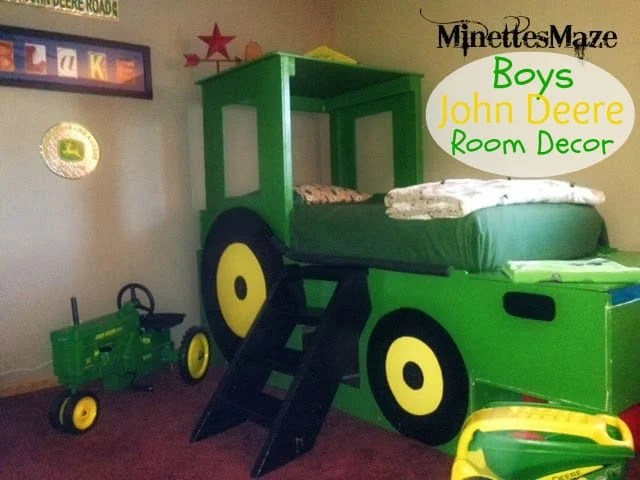 Boys John Deere Room Decor This Silly Girl S Kitchen