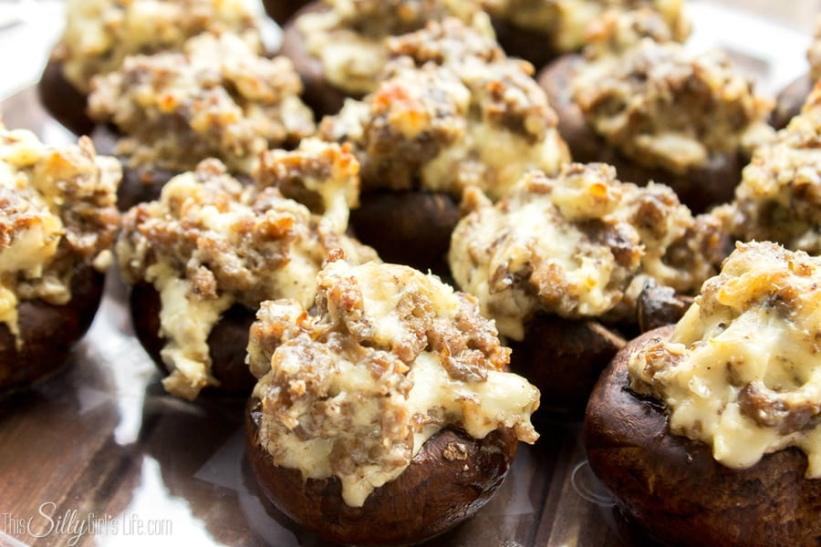 Cream Cheese Stuffed Mushrooms, a perfect twist on a classic appetizer for any party!