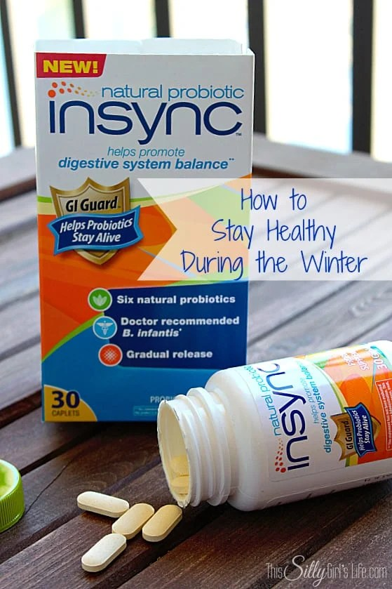 How to Stay Healthy During the Winter Including #NaturalProbiotic #shop