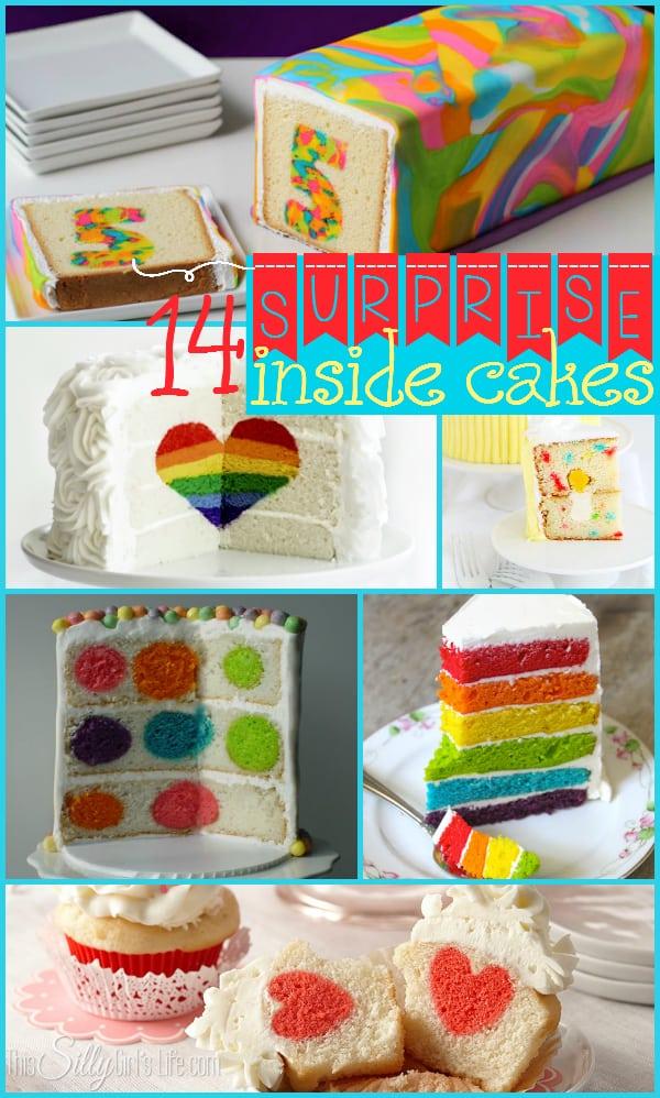 14 Surprise Inside Cakes