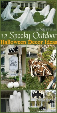 12 Spooky Outdoor Halloween Decor Ideas - This Silly Girl ...
