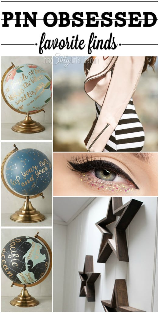 Pin Obsessed: Favorite Finds, my favorite little treasures I found during the past week on Pinterest! - ThisSillyGirlsLife.com