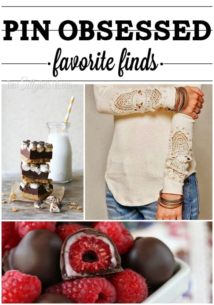 Pin Obsessed: Favorite Finds Week 4 - ThisSillyGirlsLife.com