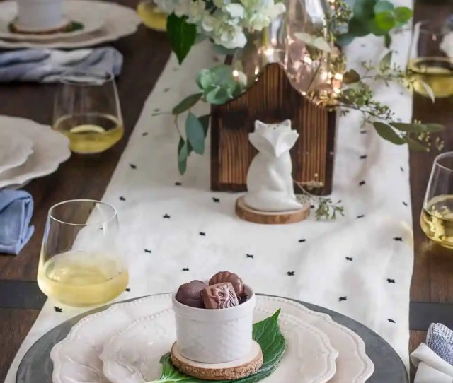 Modern Farmhouse Tablescape A Charming And Inviting Way To Decorate For Any Party