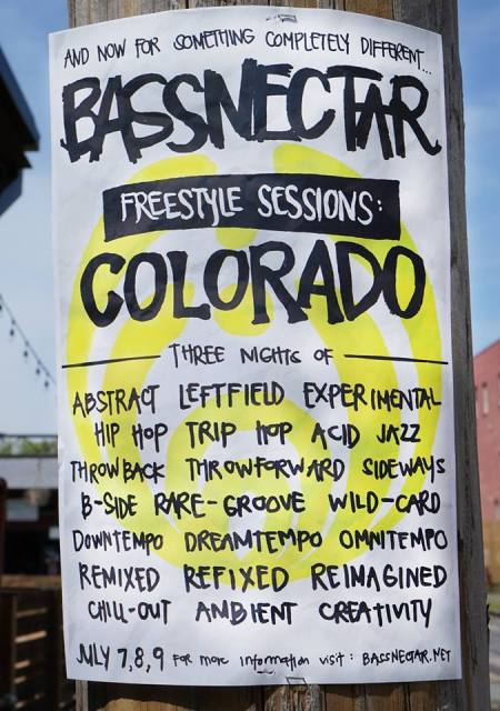 Bassnectar Freestyle Sessions Colorado