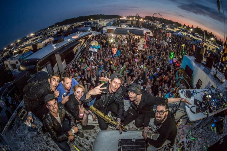 Big Gigantic & Cherub Played On Top Of RV's For An Epic Electric Forest After Party