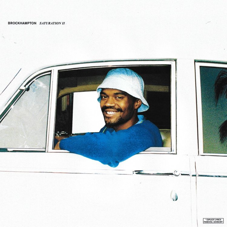 Brockhampton Saturation 2 art