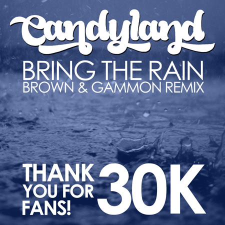 Candyland - Bring The Rain (Brown & Gammon Remix) : Funky Nu-Disco Remix [Free Download]