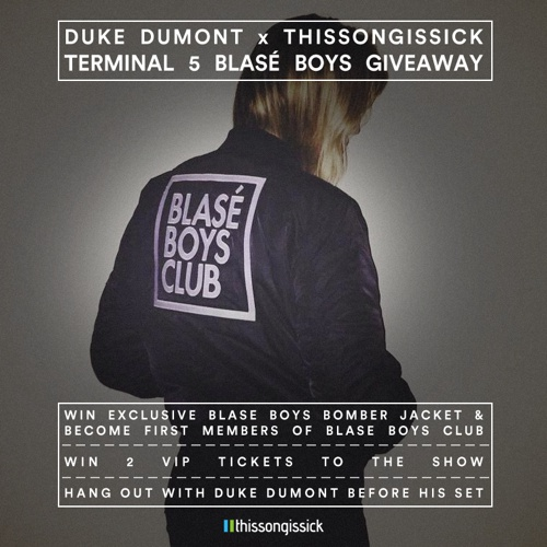 Duke Dumont Is Giving Our Readers A One Of A Kind Blasé Boys Bomber Jacket