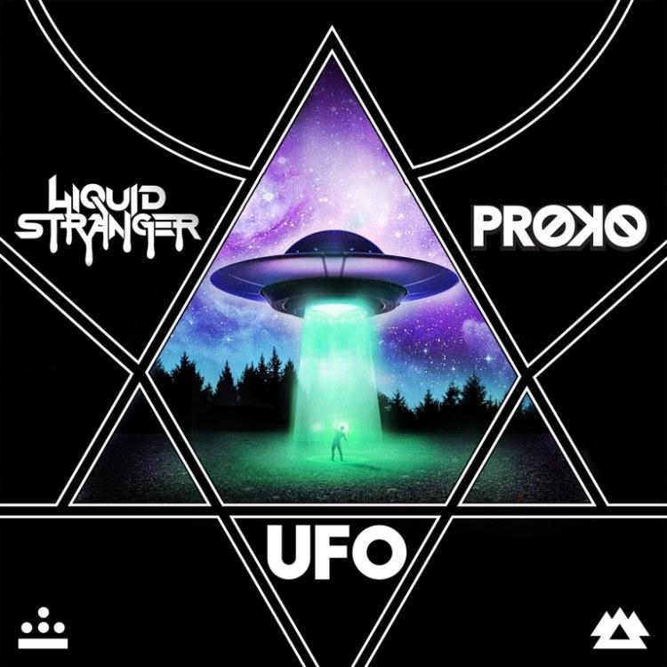 Liquid Stranger ufo art